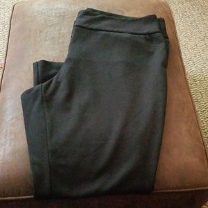 Lane Bryant black trouser